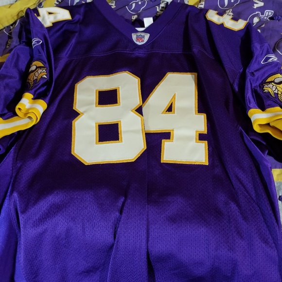 the best attitude 6d7e1 2b66e Randy Moss Minnesota Vikings Reebok Jersey 54 2xl